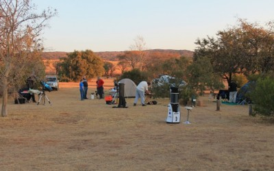2- 4 August 2019: WRAC Annual Star Party at Mountain Sanctuary Park, Magaliesberg
